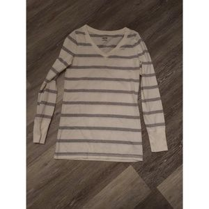 Long sleeve striped shirt size S/P